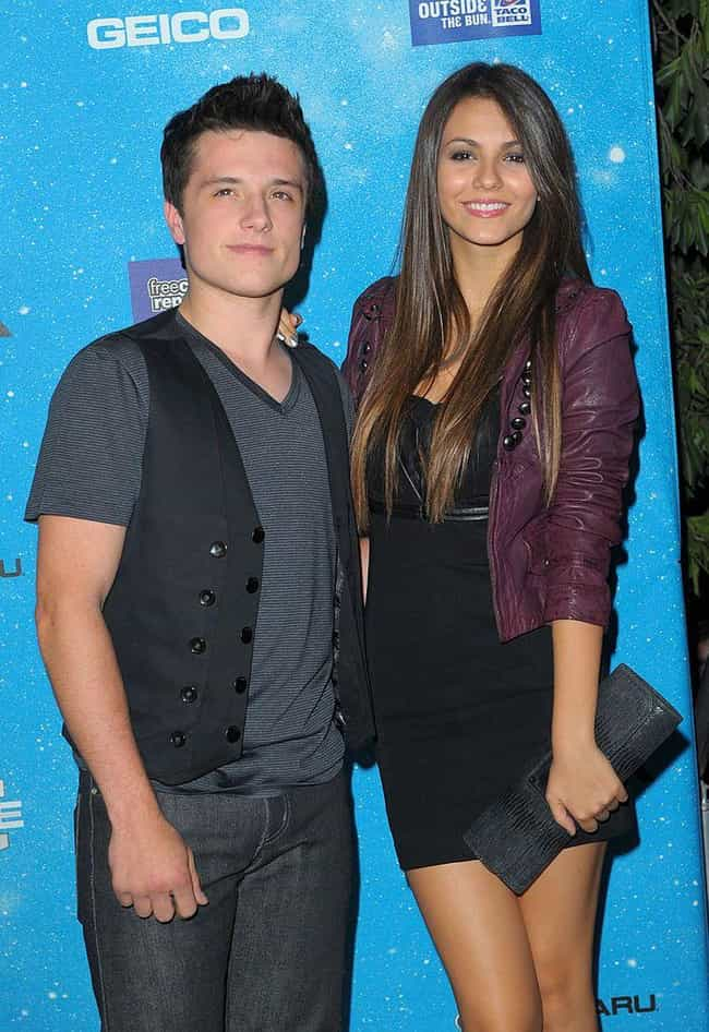 Josh Hutcherson is listed (or ranked) 4 on the list Victoria Justice Loves and Hookups