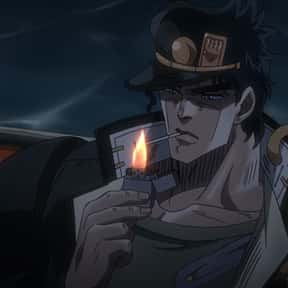 Jotaro Kujo is listed (or ranked) 19 on the list The Greatest Anime Characters That Smoke