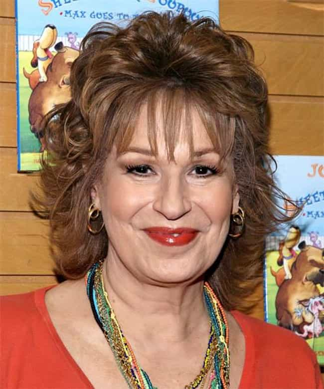 Joy Behar is listed (or ranked) 8 on the list 25 Celebrities Who Became Famous After 40