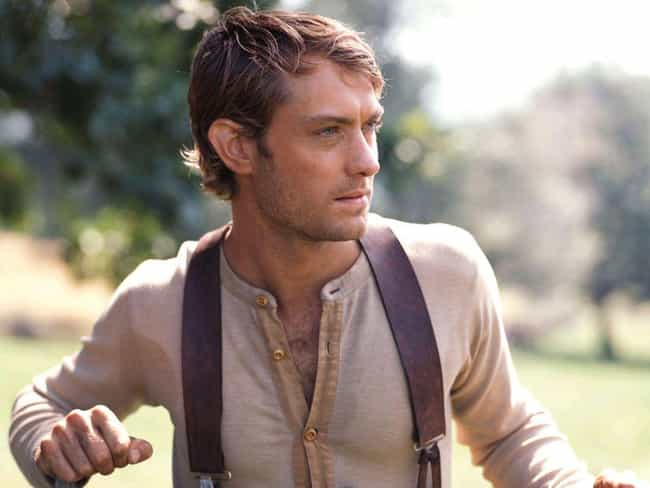 Jude Law is listed (or ranked) 3 on the list The Hottest Leading Men In Period Film