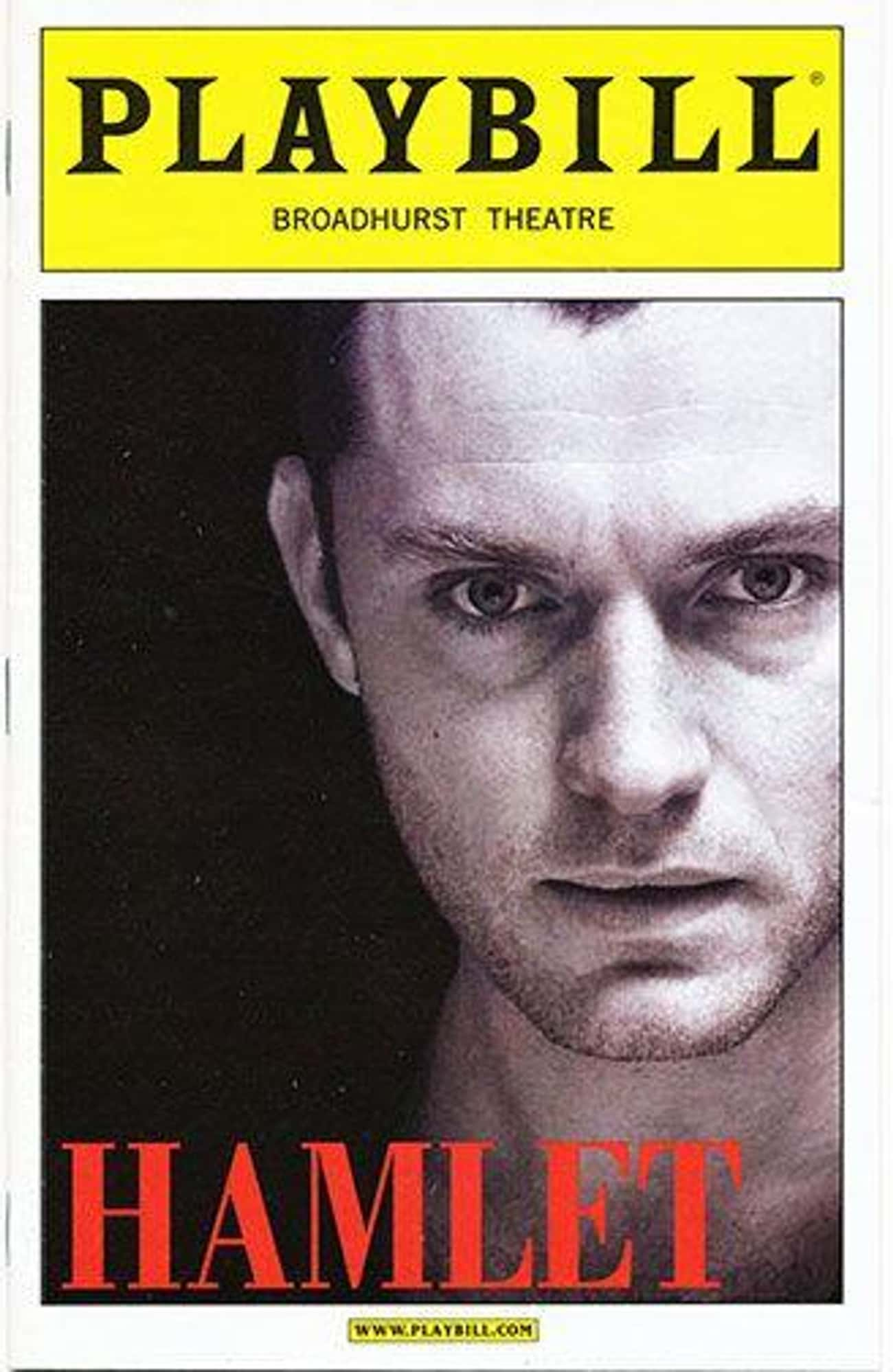 Jude Law is listed (or ranked) 3 on the list Actors Who Have Played Hamlet
