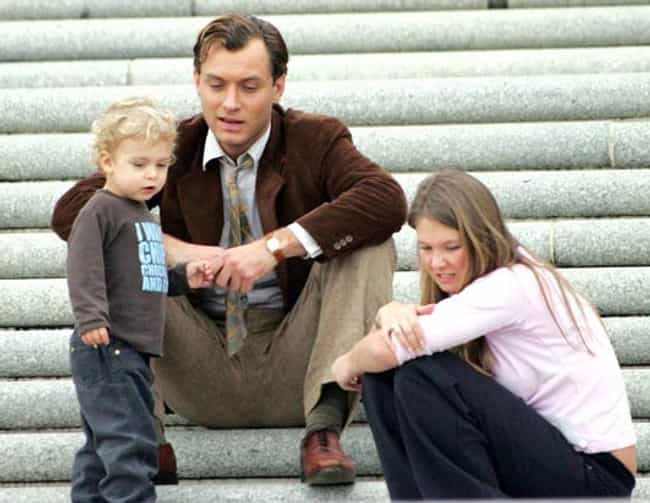 Jude Law is listed (or ranked) 4 on the list 11 Famous Men Who Cheated with the Nanny/Babysitter/Au Pair