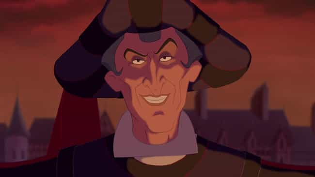 Judge Claude Frollo is listed (or ranked) 1 on the list Fictional Characters Who Are Way Younger Than You Think