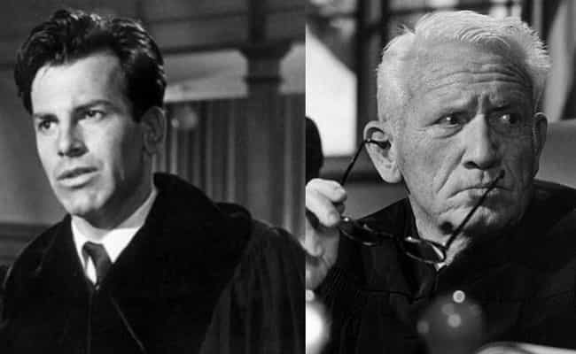 Judgment at Nuremberg is listed (or ranked) 8 on the list Every Time Film Costars Were Both Nominated For Leading Role Oscars