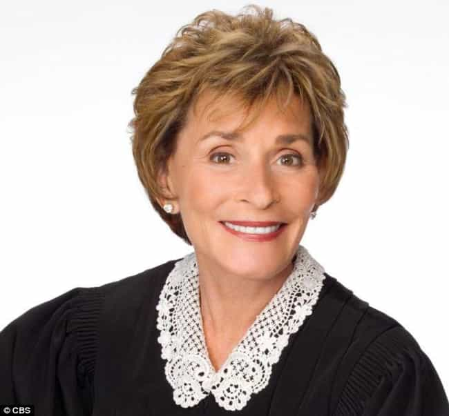 Judy Sheindlin is listed (or ranked) 24 on the list 27 of the Most Famous ESTJs