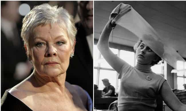Judi Dench is listed (or ranked) 3 on the list Famous Celebrities Who Are Older Than Your Favorite Everyday Things
