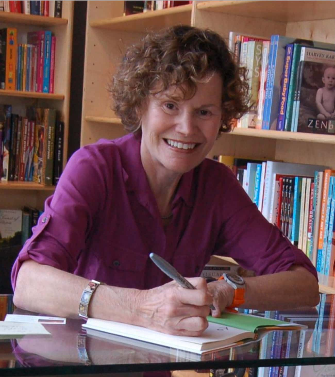 Judy Blume is listed (or ranked) 1 on the list Famous Survivors of Cervical Cancer