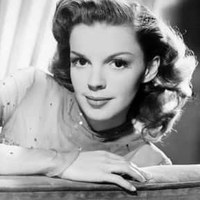 Judy Garland is listed (or ranked) 15 on the list The Greatest Entertainers of All Time