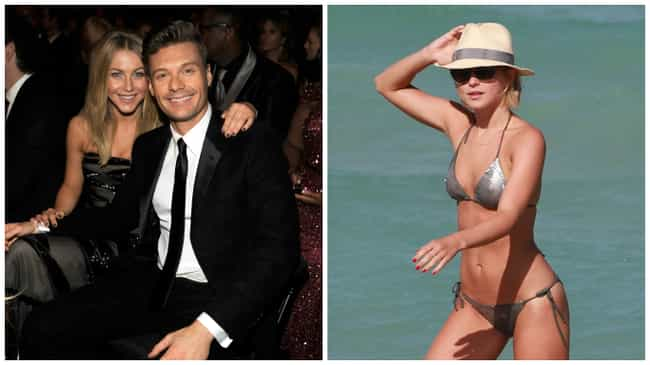 Julianne Hough is listed (or ranked) 5 on the list The Hottest Celebrity Breakovers