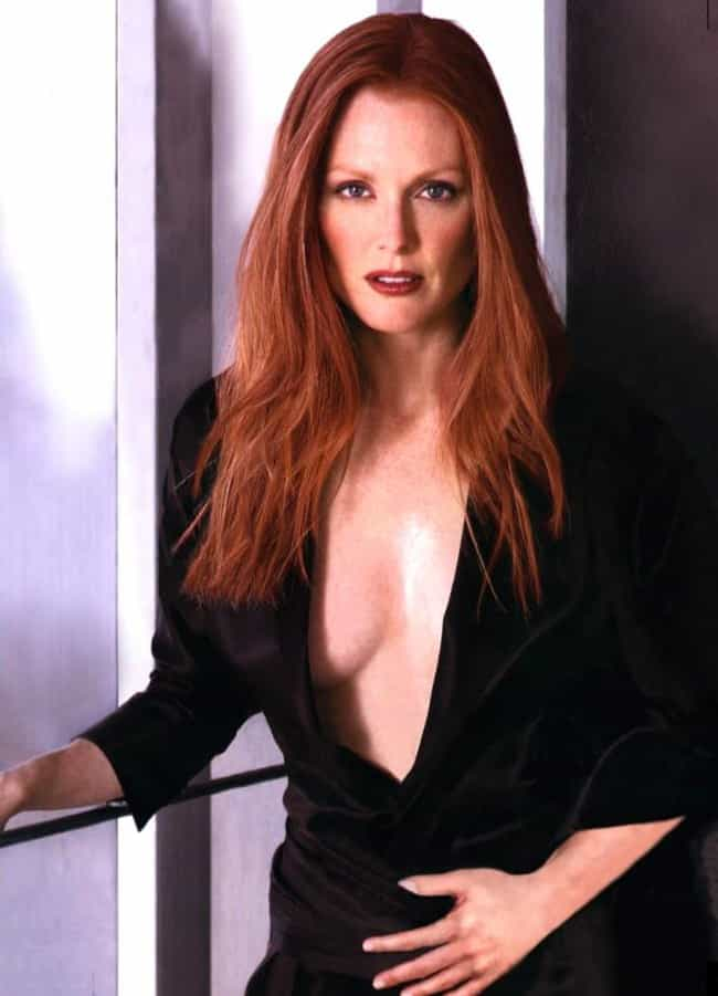 Julianne Moore is listed (or ranked) 4 on the list The Most Appealing Natural Redheads