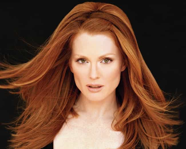 Julianne Moore is listed (or ranked) 3 on the list 23 Celebrities Who Were Born on Military Bases