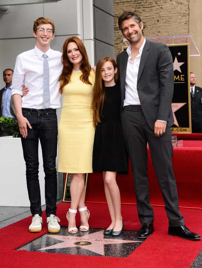 Julianne Moore is listed (or ranked) 8 on the list 23 Celebrities Who Had Home Births
