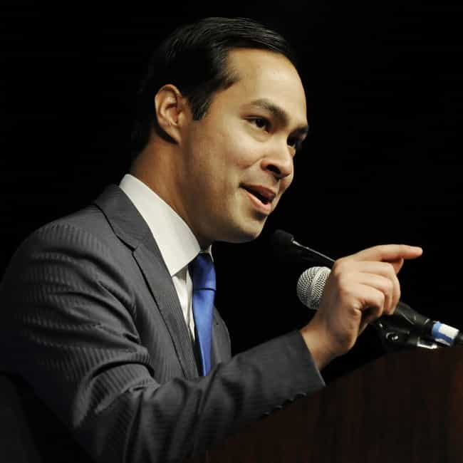 Julian Castro is listed (or ranked) 3 on the list Dream Running Mates Hillary Should Consider