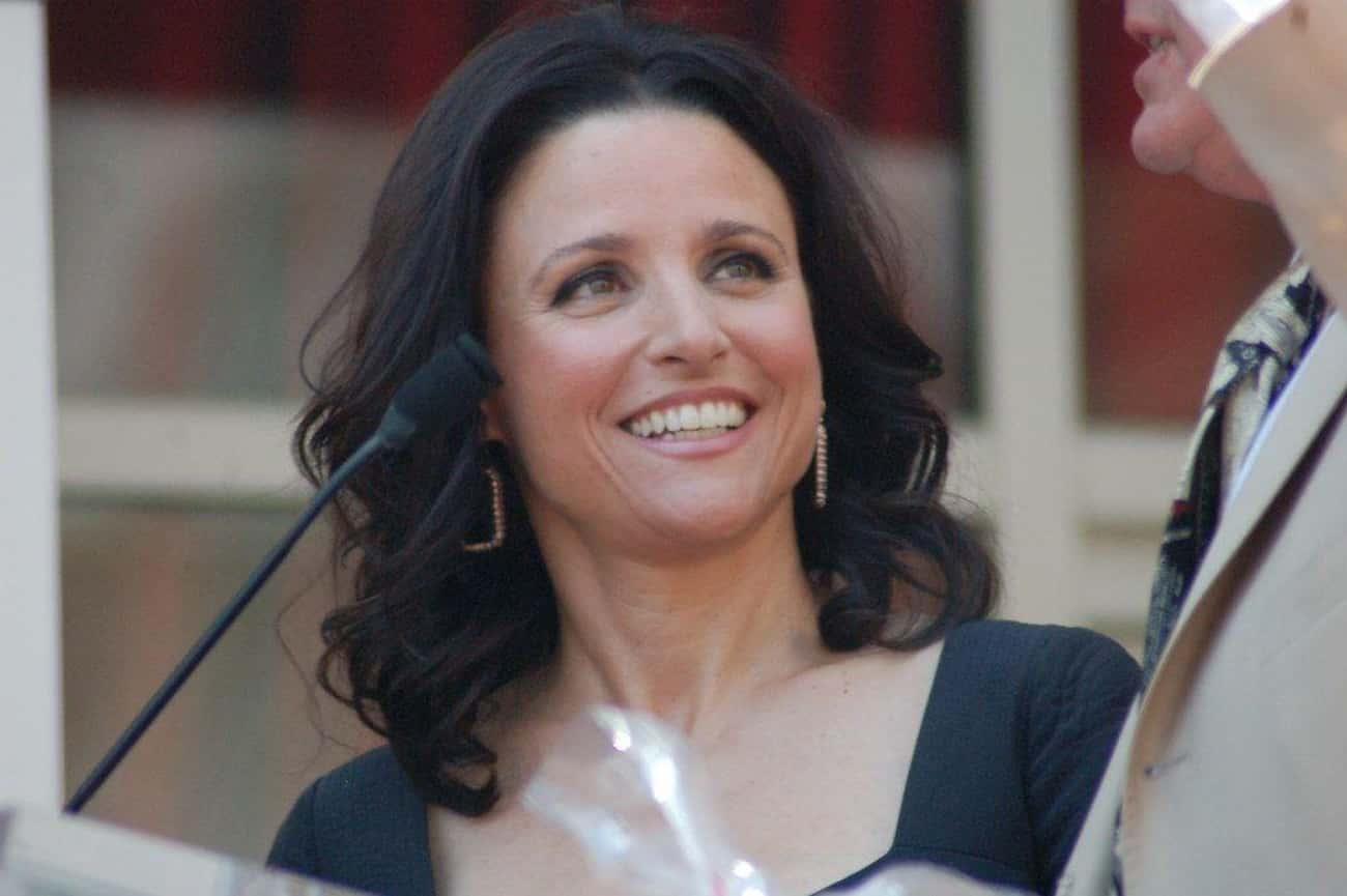 Julia Louis-Dreyfus is listed (or ranked) 3 on the list 13 Celebrities Who Are Heirs