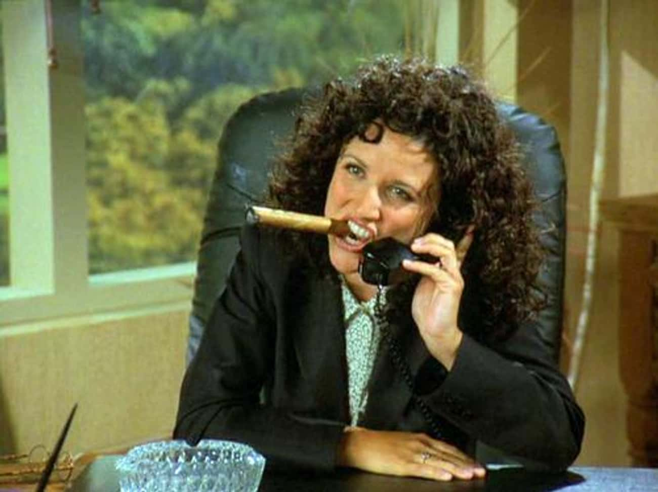 Julia Louis-Dreyfus is listed (or ranked) 3 on the list 75+ Celebrities Who Smoke Cigars