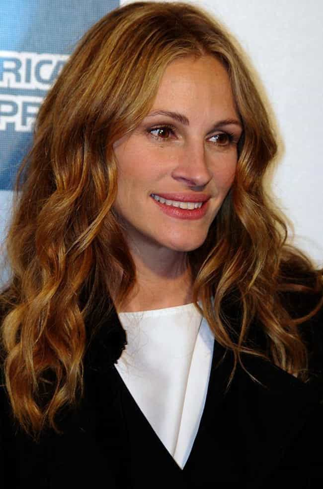 Julia Roberts is listed (or ranked) 3 on the list Celebrities Who Live in Hawaii