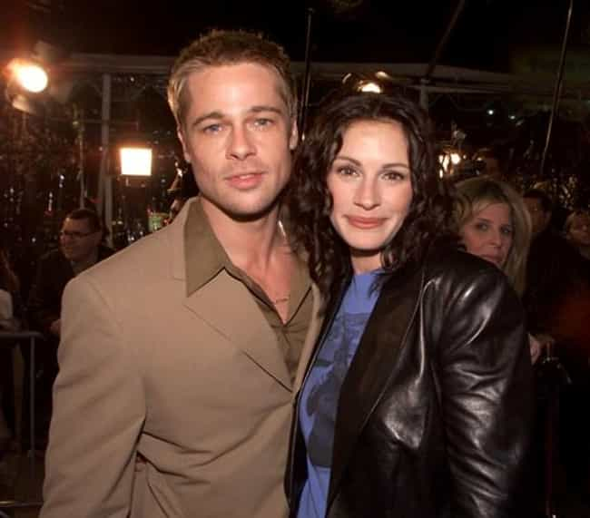 Julia Roberts is listed (or ranked) 2 on the list Famous Friends of Brad Pitt