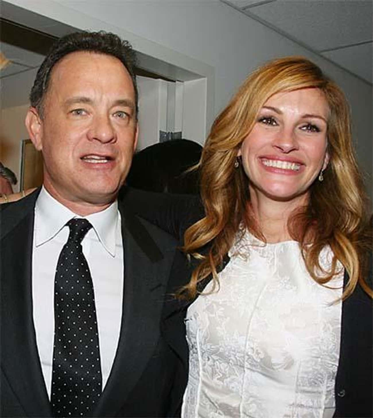 Julia Roberts is listed (or ranked) 1 on the list Famous Friends of Tom Hanks