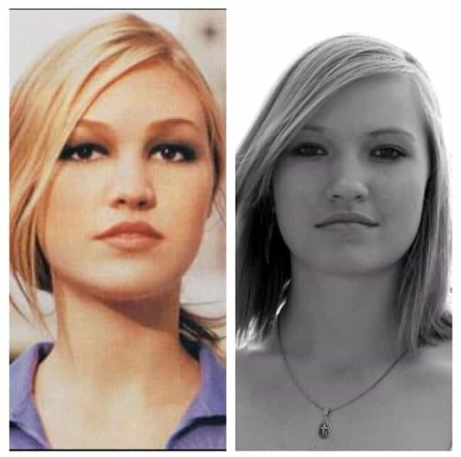 Julia Stiles is listed (or ranked) 8 on the list 40 Uncanny Celebrity Lookalikes That Are Hard to Believe
