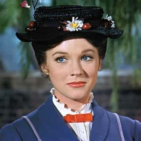 Julie Andrews is listed (or ranked) 1 on the list The Best Actors Who Won Oscars for Their First Movie