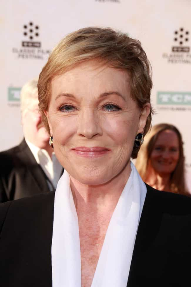 Julie Andrews is listed (or ranked) 2 on the list Who Is America's Grandmother in 2019?