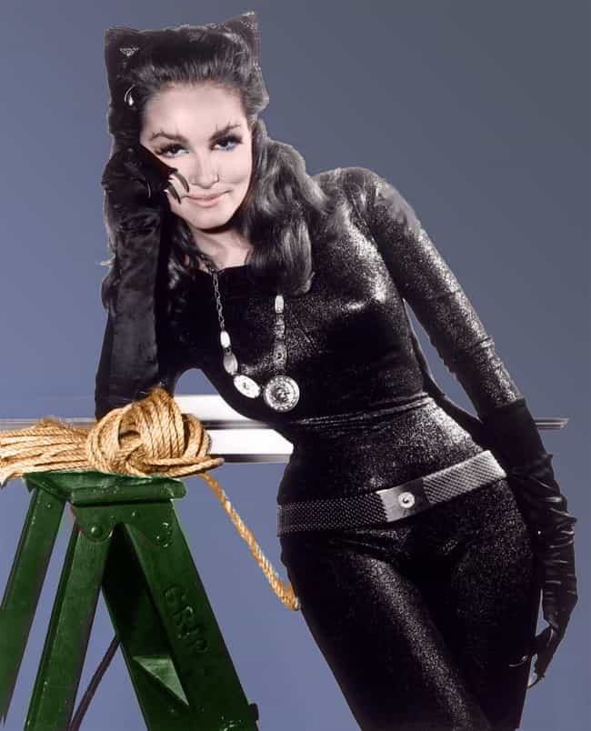 Julie Newmar is listed (or ranked) 1 on the list Catsuits