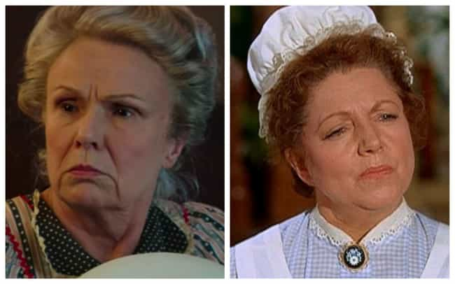 Julie Walters is listed (or ranked) 3 on the list All The Actors In 'Mary Poppins' Vs. Their Counterparts In 'Mary Poppins Returns'