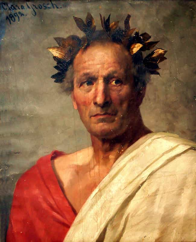 Julius Caesar is listed (or ranked) 1 on the list The Signature Afflictions Of Historical Figures