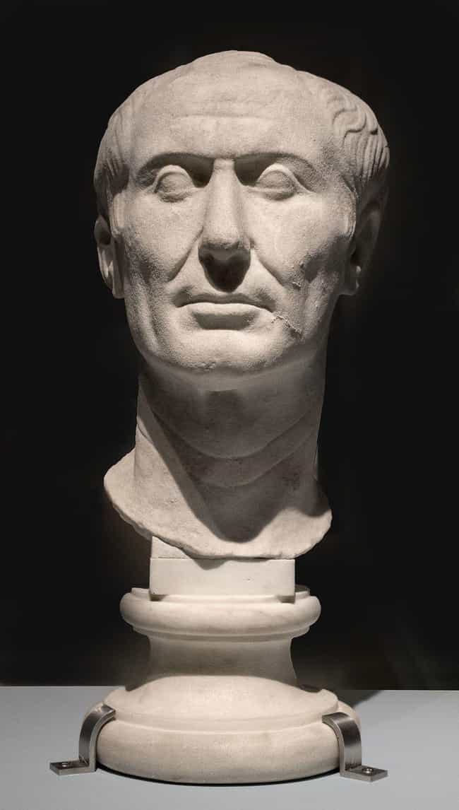 Julius Caesar is listed (or ranked) 2 on the list Which General Would Win In An All-Out War Between History's Greatest Military Leaders?