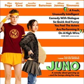 Juno is listed (or ranked) 8 on the list The Best Comedy-Drama Movies
