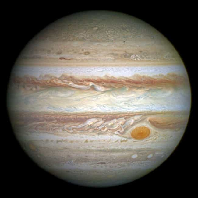Jupiter is listed (or ranked) 4 on the list The Best Planets in the Solar System
