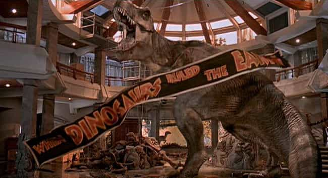 Jurassic Park is listed (or ranked) 2 on the list 18 Awesome Sci-Fi Movies That Got Away Without Explaining Major Things