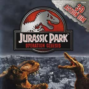 Jurassic Park: Operation Genes is listed (or ranked) 1 on the list The Best Jurassic Park Video Games Ever Made