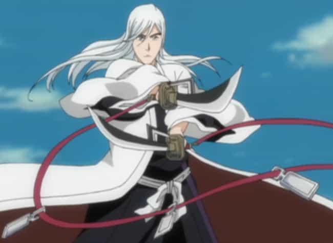 Jūshirō Ukitake is listed (or ranked) 4 on the list 13 Anime Characters Who Use Their Enemy's Attacks Against Them