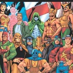 Justice Society of America is listed (or ranked) 25 on the list The Best Superhero Teams & Groups