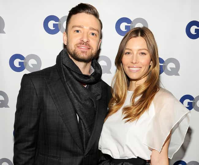 Justin Timberlake is listed (or ranked) 1 on the list Jessica Biel's Loves & Hookups