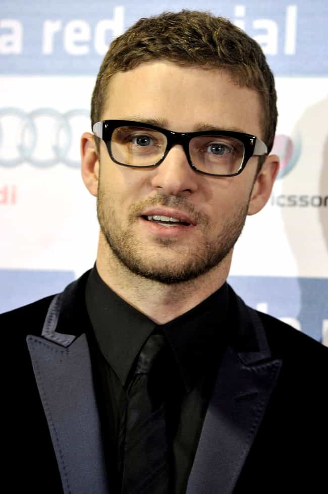 Justin Timberlake is listed (or ranked) 5 on the list 35 Celebrities with Glasses