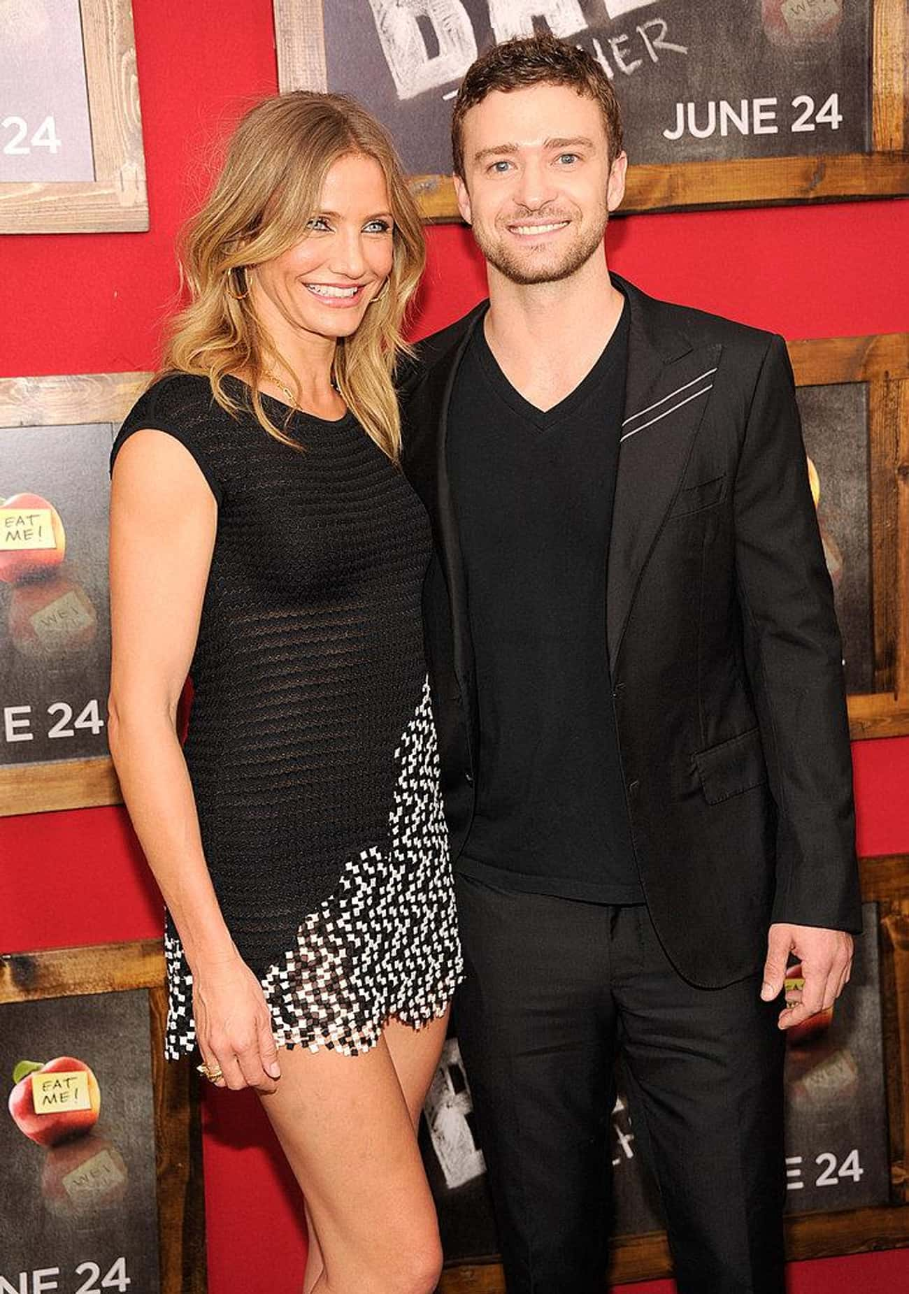 Justin Timberlake is listed (or ranked) 4 on the list Famous Friends of Cameron Diaz