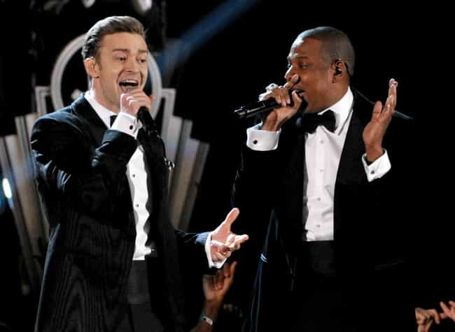 Justin Timberlake is listed (or ranked) 3 on the list Famous Friends of Jay-Z