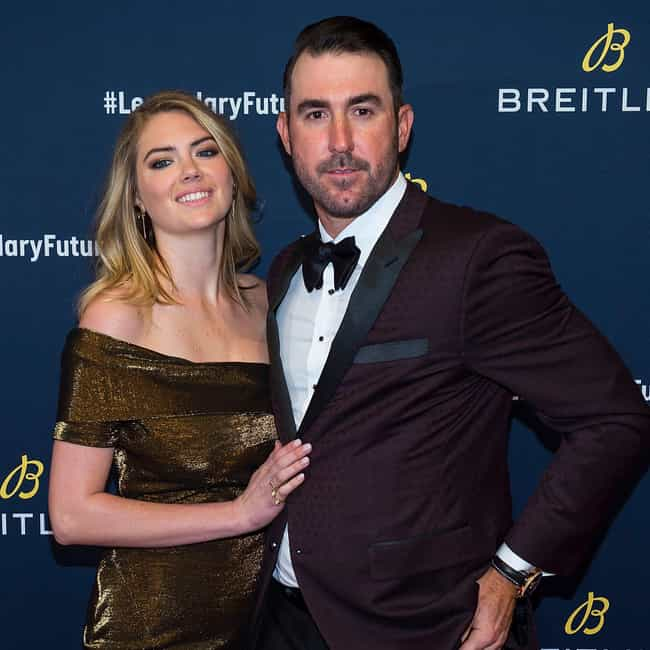 Justin Verlander is listed (or ranked) 1 on the list Kate Upton Loves and Hookups