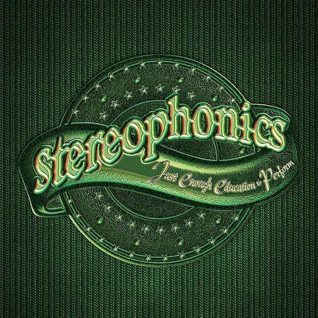 Just Enough Education to Perfo is listed (or ranked) 2 on the list The Best Stereophonics Albums of All-Time