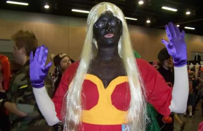 Jynx is listed (or ranked) 1 on the list The Worst Cosplay of All Time