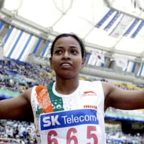 Jyotirmoyee Sikdar is listed (or ranked) 3 on the list Famous Female Athletes from India