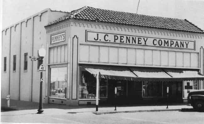 J. C. Penney is listed (or ranked) 5 on the list Amazing Early Photos of the World's Most Iconic Companies