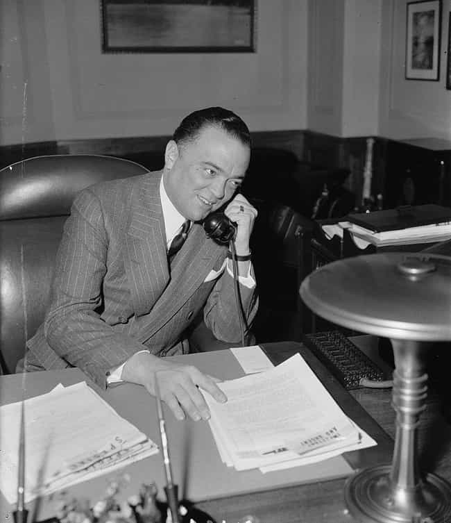 J. Edgar Hoover is listed (or ranked) 3 on the list Famous Historical Men You Didn't Know Were Into Prostitutes