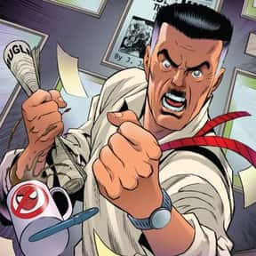J. Jonah Jameson is listed (or ranked) 23 on the list The Coolest Comic Characters That Aren't Superheroes