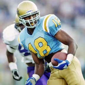 J. J. Stokes is listed (or ranked) 15 on the list The Best UCLA Football Players of All Time