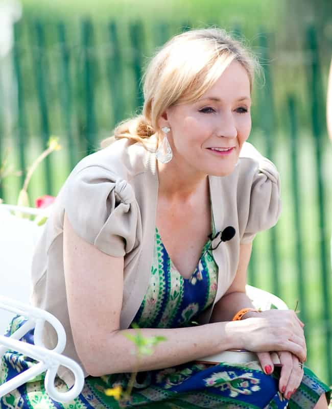J. K. Rowling is listed (or ranked) 4 on the list First Book Successes Written By People Who Weren't Authors