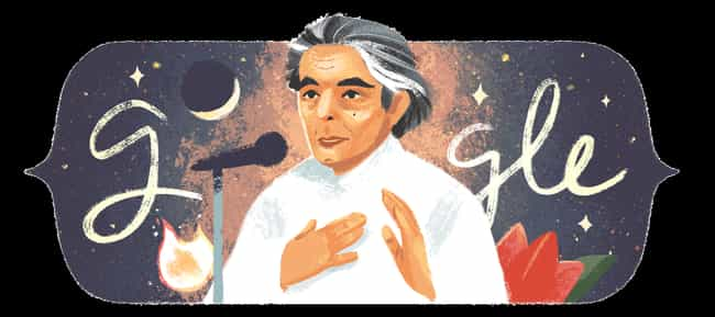 Kaifi Azmi is listed (or ranked) 1246 on the list Every Person Who Has Been Immortalized in a Google Doodle