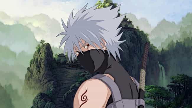 Kakashi Hatake Is Listed Or Ranked 3 On The List Greatest Anime Characters